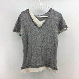 Ermanno Scervino Womens Sweater Top Gray